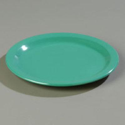 "Carlisle 4350109 9"" Dallas Ware Dinner Plate - Melamine, Meadow Green"