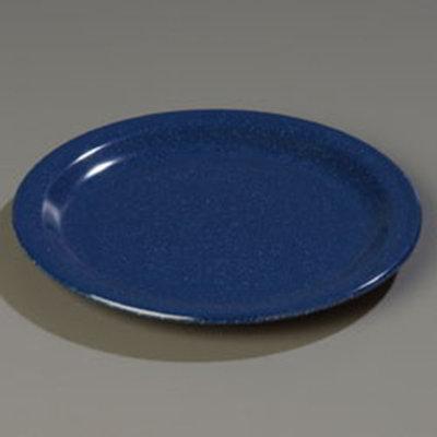 """Carlisle 4350535 5-5/8"""" Dallas Ware Bread/Butter Plate - Melamine, Cafe Blue"""