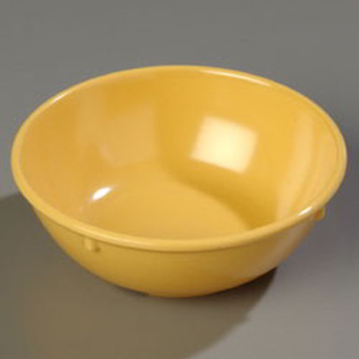 Carlisle 4352122 14-oz Dallas Ware Nappie Bowl - Melamine, Honey Yellow