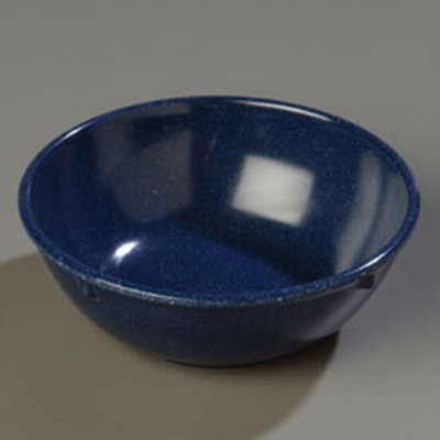 Carlisle 4352135 14-oz Dallas Ware Nappie Bowl - Melamine, Cafe Blue