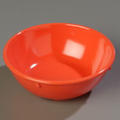 Carlisle 4352152 14-oz Dallas Ware Nappie Bowl - Melamine, Sunset Orange