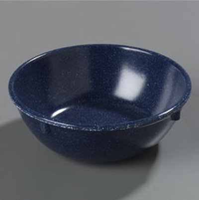 Carlisle 4352835 10-oz Dallas Ware Nappie Bowl - Melamine, Cafe Blue