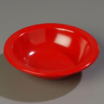 Carlisle 4352905 10-oz Dallas Ware Grapefruit Bowl - Melamine, Red