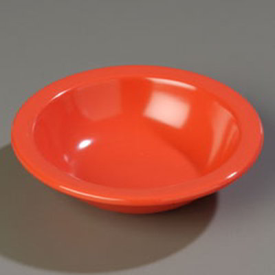 Carlisle 4352952 10-oz Dallas Ware Grapefruit Bowl - Melamine, Sunset Orange