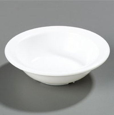 Carlisle 43531-802 Dallas Ware Fruit Bowl, 4-3/4 oz., 12 Per Pack, Melamine, White