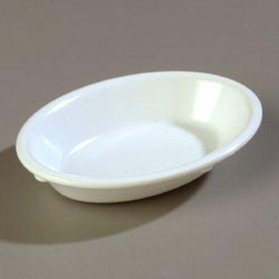 Carlisle 4353302 6-1/2-oz Dallas Ware Fruit Bowl - Melamine, White
