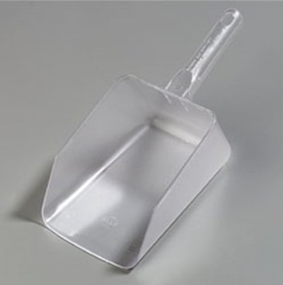 Carlisle 436407 64-oz Ice Scoop - Clear