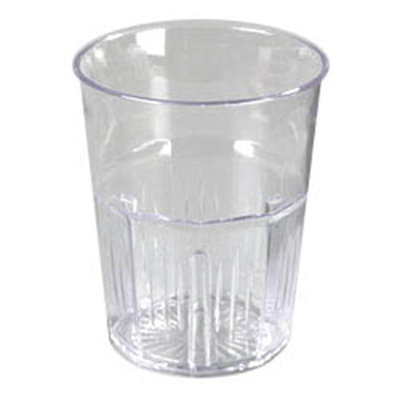 Carlisle 4364907 9-oz Old Fashion Lorraine Tumbler - Clear