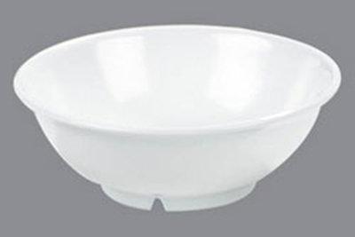 Carlisle 4373702 24-oz Serving Bowl - Melamine, White