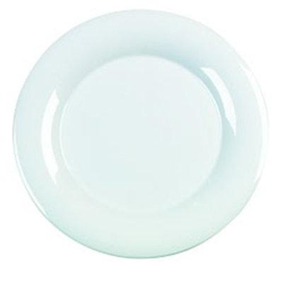 "Carlisle 4440402 15"" Pallete Designer Round Platter - Melamine, White"