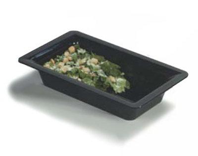 Carlisle 4442403 Full Size Food Pan, 4-in Deep, Black