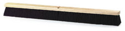 "Carlisle 4505603 36"" Floor Sweep - Fine/Medium, Hardwood Block, Black Tampico Bristles"