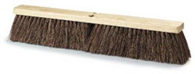 "Carlisle 4522200 24"" Floor Sweep Head - Coarse/Heavy, Hardwood Block, 4"" Trim, Palmyra Bristles"