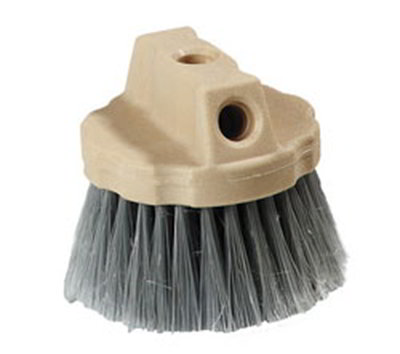 "Carlisle 4535023 4-1/2"" Flo-Thru Window Brush - Polypropylene, Gray"