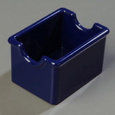 Carlisle 455052 Sugar Packet Caddy, Holds 20 Packets, Plastic, Sunset Orange