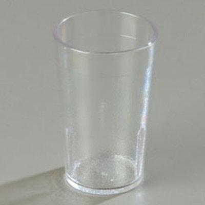 Carlisle 5105207 5-oz Stackable Tumbler, Polycarbonate, Clear