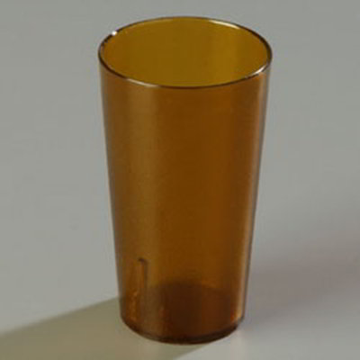 Carlisle 5216-813 16-oz Stackable Tumbler - (12/Pack) Amber