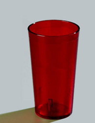 Carlisle 5220-810 20-oz Stackable Tumbler - (12/Pack) Ruby