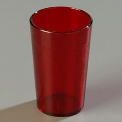 Carlisle 5501-8110 5-oz Large Pack of Stackable Tumbler, Ruby