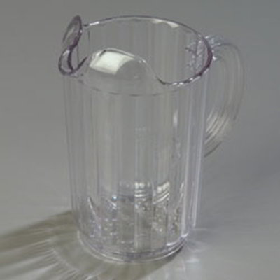 Carlisle 553607 32-oz Pitcher - Polycarbonate, Clear