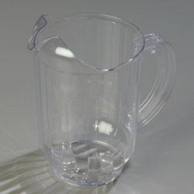 Carlisle 554407 60-oz Window Pitcher - Polycarbonate, Clear