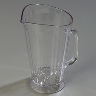 Carlisle 558307 48-oz Crystalite Pitcher - Polycarbonate, Clear