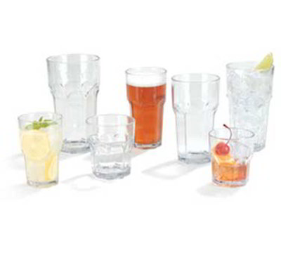 Carlisle 581407 14-oz Louis Tumbler - Clear