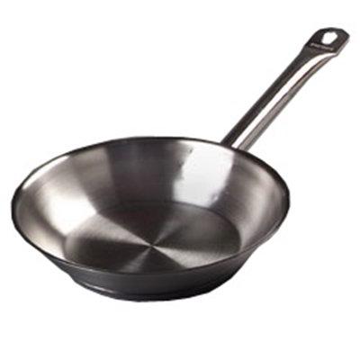 "Carlisle 601008 7"" Fry Pan - Aluminum/Stainless"