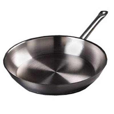 "Carlisle 601012 12"" Fry Pan - Aluminum/Stainless"