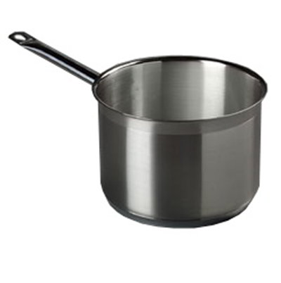 Carlisle 601045 4.5-qt Saucepan - Induction Compatible, 18/10 Stainless