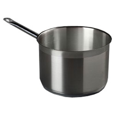 Carlisle 601075 7-qt Saucepan - Induction Compatible, 18/10 Stainless
