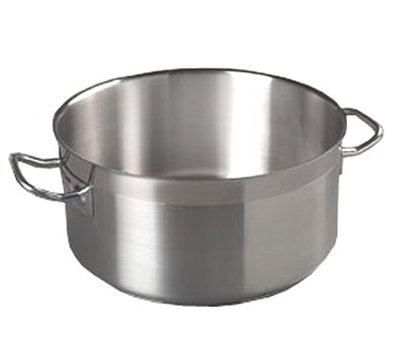 Carlisle 601123 22-qt Saucepan - Induction Compatible, 18/10 Stainless