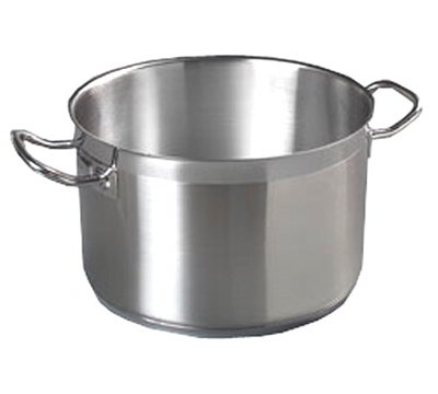 Carlisle 601175 6-qt Saucepan - Induction Compatible, 18/10 Stainless