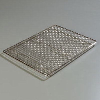Carlisle 601642 Icing Grate - Half-Size Sheet Pans, Chrome Plated Steel