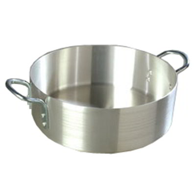 Carlisle 60310 20-qt Braizer Pot w/ Looped Handles, Standard Weight, Aluminum