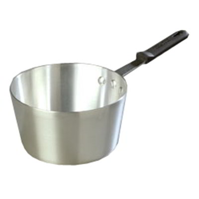 Carlisle 60348RS 2-3/4-qt Tapered Sauce Pan w/ Sleeve, Dent-Resistant, Aluminum