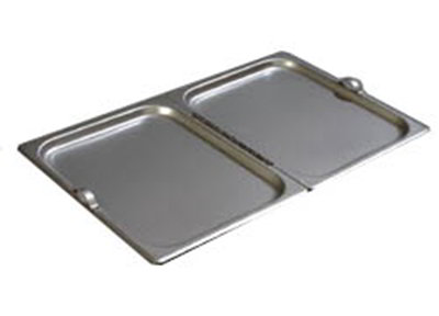 Carlisle 607000H Full-Sized Steam Pan Cover, Stainless