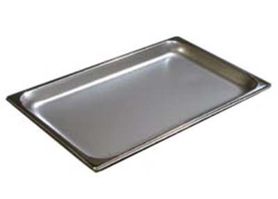 Carlisle 607001 Full-Sized Steam Pan, Stainless