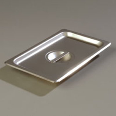 Carlisle 607140C Fourth-Size Steam Pan Cover, Stainless