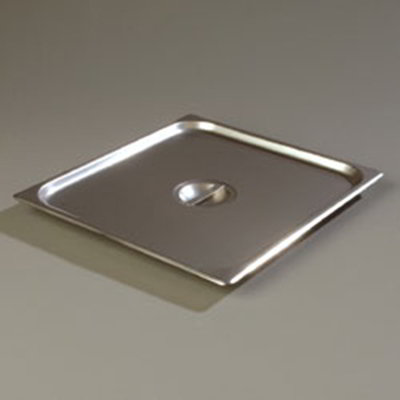 Carlisle 607230C Two-Third Size Steam Pan Cover, Stainless