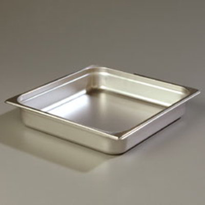 Carlisle 607232 Two-Third Size Steam Pan, Stainless