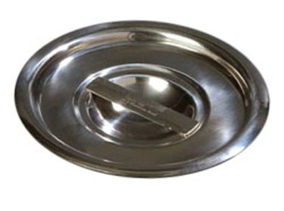 "Carlisle 607904C 6-1/2"" Bain Marie Pot Cover - 18/8 Stainless"