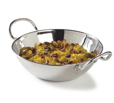 "Carlisle 609092 6"" Round Balti Dish - Stainless"