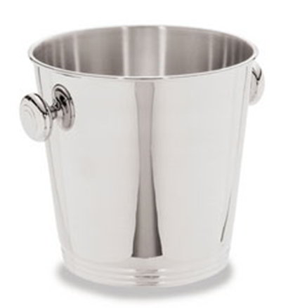 Carlisle 609107 8-1/4-in Wine Bucket w/ 7-5/8-in Height & Mirror Finish, Stainless
