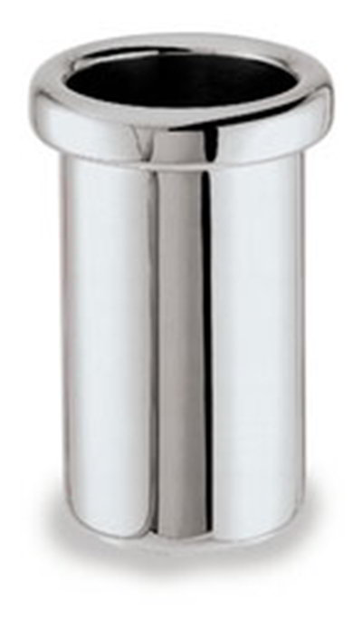 """Carlisle 609145 8-3/4"""" Wine Cooler - Insulated, Mirror-Finish Stainless"""