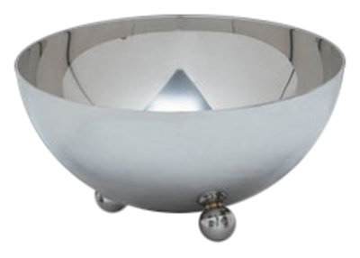 Carlisle 609196 96-oz Display Serving Bowl - Stainless Steel