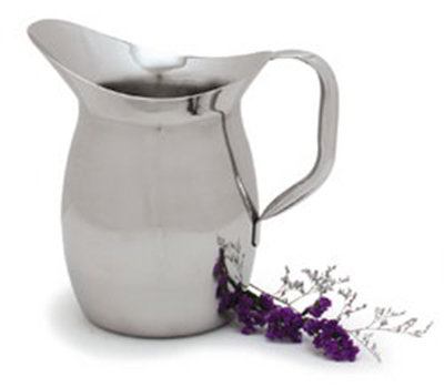 Carlisle 609270 2-qt Bell Pitcher - Stainless Steel