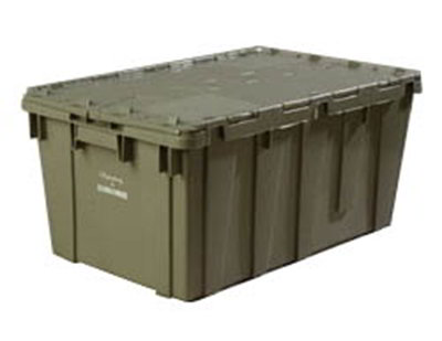 Carlisle 609523E Chafer Storage Container - Hinged Lockable Lid, Polyethylene