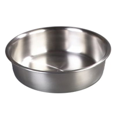"Carlisle 609530W 13"" Round Chafer Water Pan - Stainless Steel"