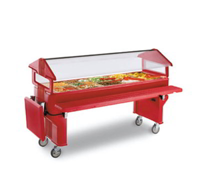 Carlisle 668605 6' Food Bar Door - Red